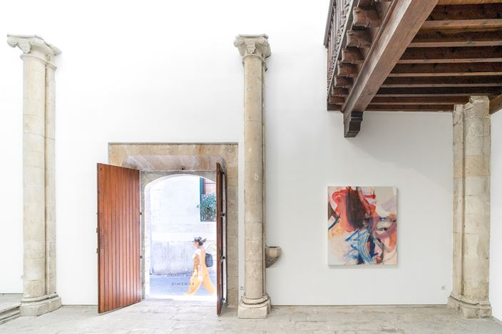 Exhibition view: Liliane Tomasko,Amygdala, KEWENIG, Palma (27 June–14 September 2019). Courtesy KEWENIG. Photo: Bruno Daureo.