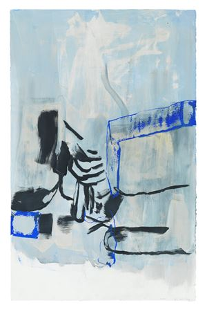 SK3 by Amy Sillman contemporary artwork