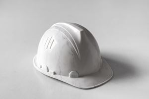 Marble Helmet by Ai Weiwei contemporary artwork