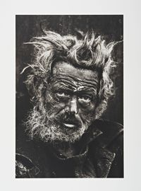 Homeless man, east London by Don McCullin contemporary artwork photography