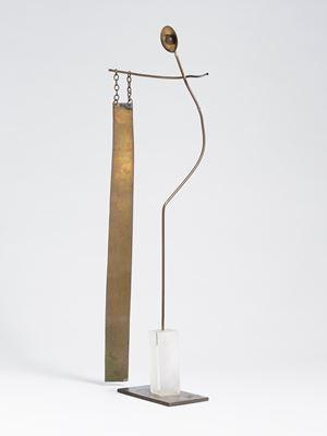 Evangelista / Evangelist by Fausto Melotti contemporary artwork