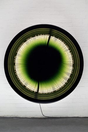 Loop by Iván Navarro contemporary artwork
