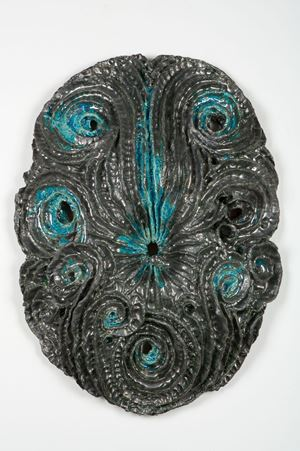 Les Fougères by Johan Creten contemporary artwork