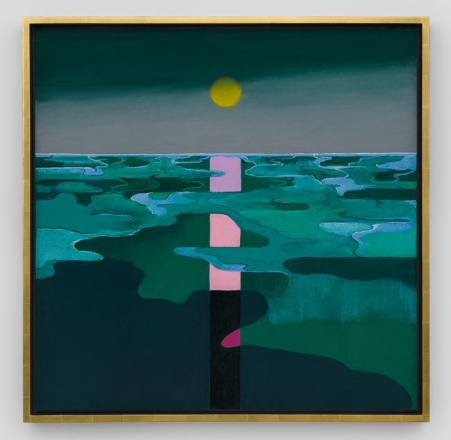 Sunset by Nicolas Party contemporary artwork