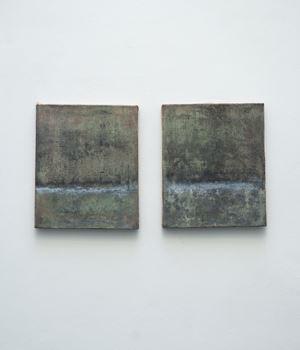 Losing Time (Dittico) by Lorenzo Brinati contemporary artwork