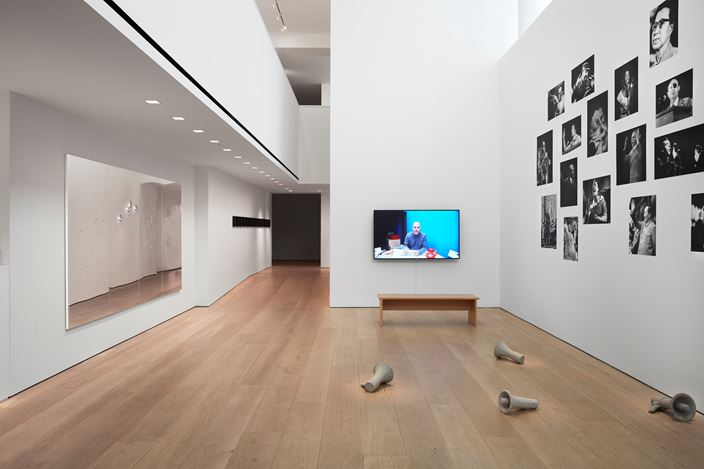 Exhibition view: Kader Attia, Mirrors of Emotion, Lehmann Maupin, W 24th Street, New York (10 September–26 October 2019). Courtesy the artist and Lehmann Maupin, New York, Hong Kong, and Seoul. Photo: Matthew Herrmann.