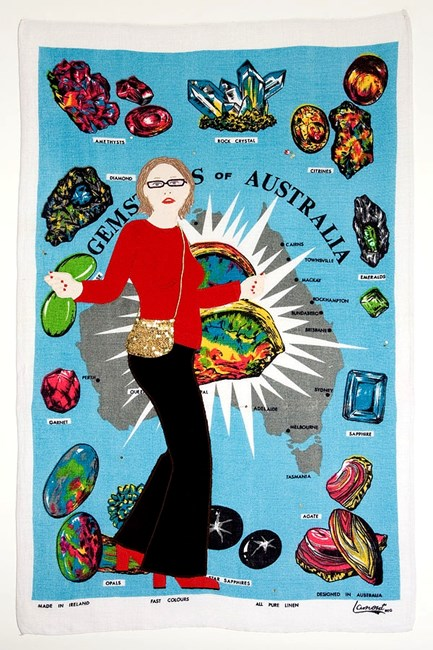 Gems of Australia by Adrienne Doig contemporary artwork