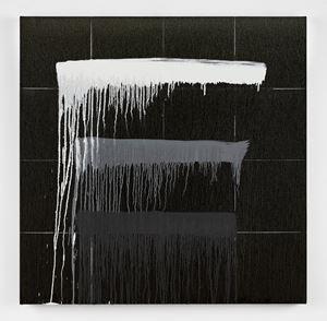 Considering Rothko #11 by Pat Steir contemporary artwork