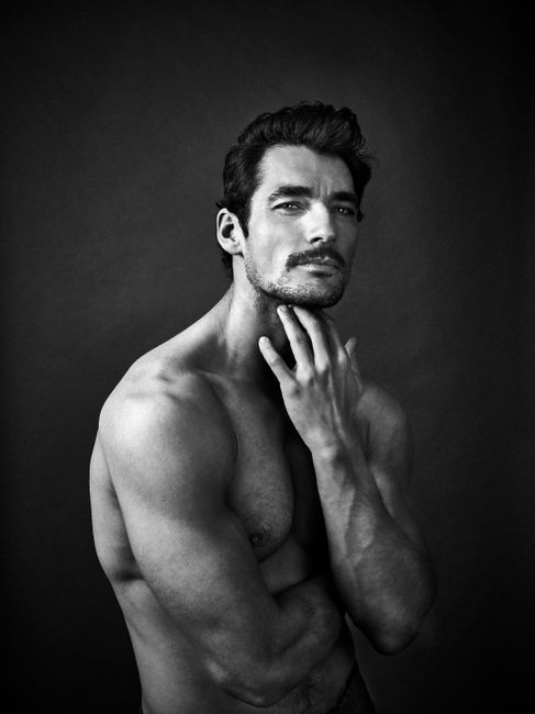 David Gandy by Andy Gotts contemporary artwork