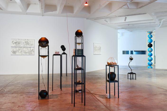 Exhibition view: Nolan Oswald Dennis, conditions, Goodman Gallery, Johannesburg (7 August–11 September 2021). Courtesy Goodman Gallery.