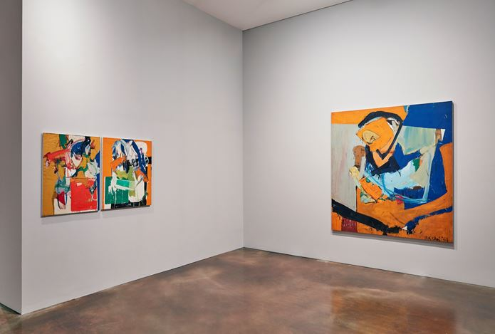 Exhibition view of Wook-kyung Choi: American Years 1960s-1970s, 2016 at Kukje Gallery, Seoul. Photo: Keith Park Courtesy of Kukje Gallery.