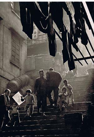 'Street Scene', Hong Kong by Fan Ho contemporary artwork