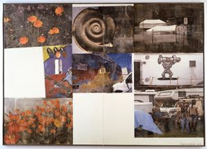 Rehab (Scenarios) by Robert Rauschenberg contemporary artwork