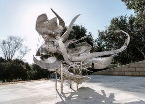 Photon's Mass by Nancy Rubins contemporary artwork sculpture