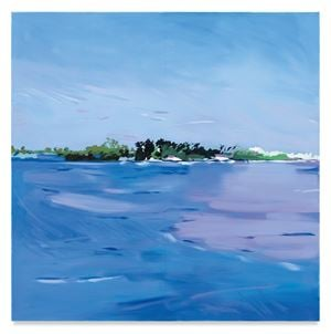 Island by Isca Greenfield-Sanders contemporary artwork