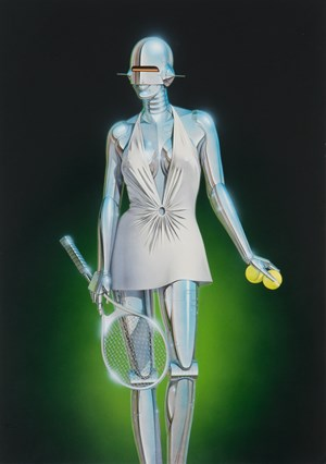 Untitled by Hajime Sorayama contemporary artwork
