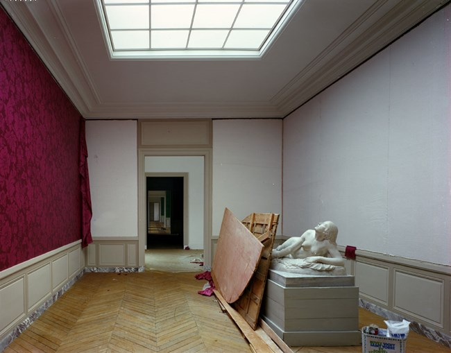 Salles du XIX, Attique du Nord, Aile du Nord - Attique, Château de Versailles, France by Robert Polidori contemporary artwork