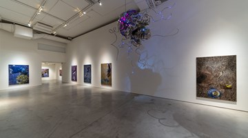 Contemporary art exhibition, Yang Mao-Lin, Wanderers of the Abyssal Darkness II: Somber Seas at Tina Keng Gallery, Taipei