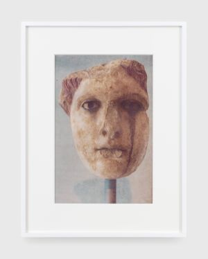 Head of a goddess by James Welling contemporary artwork