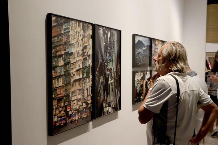Exhibition view: Greg Girard & Ian Lambot,City of Darkness 黑暗之城,Blue Lotus Gallery, Hong Kong (8 November–8 December 2019). Courtesy Blue Lotus Gallery.