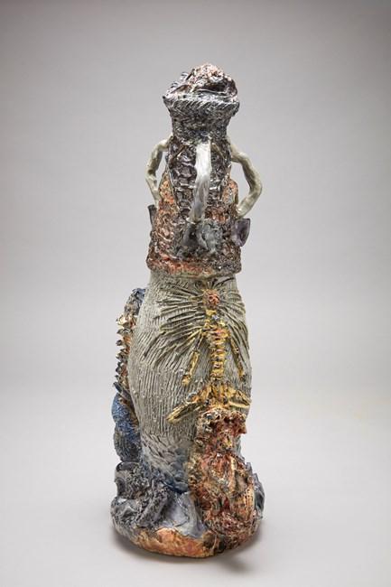 Scored Overcoat by Nichola Shanley contemporary artwork