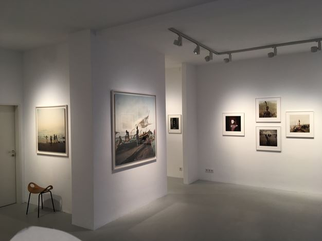 Exhibition view: Denis Dailleux, Ghana,Galerie—Peter—Sillem, Frankfurt (18 January–22 February 2020). CourtesyGalerie—Peter—Sillem.