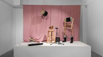 Contemporary art exhibition, Tobias Bradford, Stage Fright at Huxley-Parlour, London