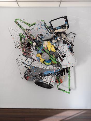 Exhibition view: Daniel Firman, SWITCH UP, Reflex Amsterdam (21 November 2-2020–29 May 2021). Courtesy Reflex Amsterdam.
