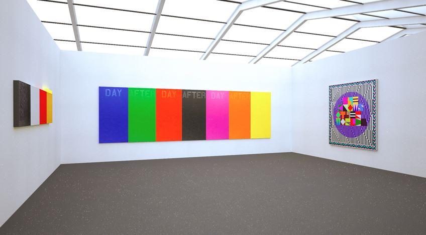 Installation rendering: Kavi Gupta at Frieze London (9–16 October 2020). Courtesy Kavi Gupta.