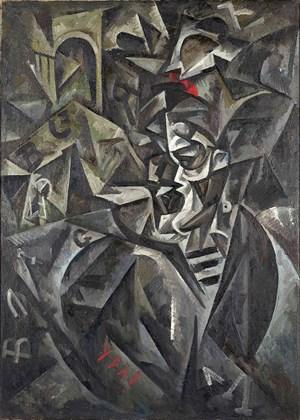The Baltic sailor by Vladimir Ivanovich Kozlinsky contemporary artwork painting
