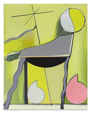 Porträt Marco Dente by Thomas Scheibitz contemporary artwork