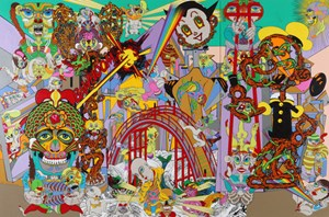The Bridge to Another World by Keiichi Tanaami contemporary artwork