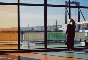 Waiting for a ship - The port of Algiers by Tomoko Yoneda contemporary artwork