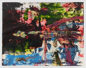 Transitional Space 10 by Jack Whitten contemporary artwork