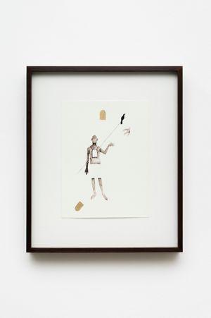 Outros ofícios: Figura com esmoler by Antonio Obá contemporary artwork
