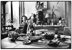 Picasso et céramique (hibou) [Picasso and ceramic (owl)] by David Douglas Duncan contemporary artwork