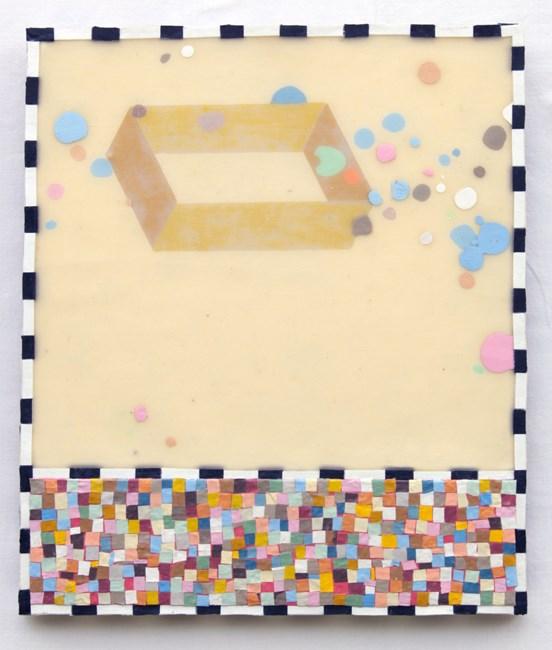 Porous Barrier by Mark Rodda contemporary artwork