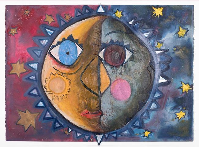 Gemini moon (full volume 1) by Brendan Huntley contemporary artwork