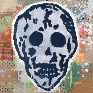 SKULL STUDY by Donald Baechler contemporary artwork