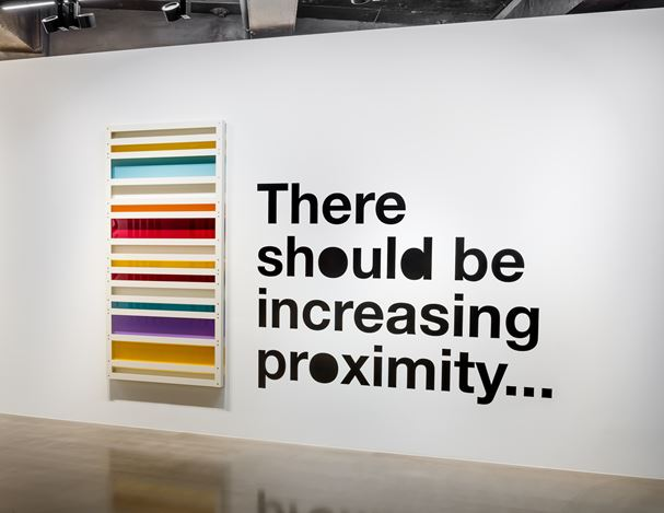 Exhibition view: Liam Gillick, There Should Be Fresh Springs..., Gallery Baton, Seoul. Courtesy Gallery Baton, photo by Jeon Byung Cheol.