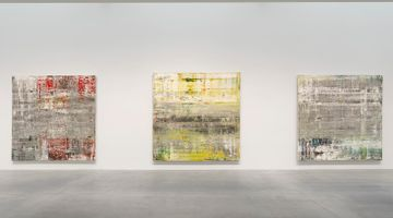 Contemporary art exhibition, Gerhard Richter, Cage Paintings at Gagosian, 541 West 24th Street, New York