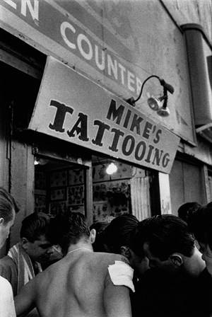 Mike's Tattoo, Brooklyn Gang by Bruce Davidson contemporary artwork