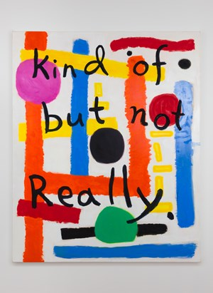 Kind of but not really by Angela Brennan contemporary artwork