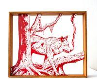 wolf by Kenichi Yokono contemporary artwork sculpture