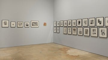 Contemporary art exhibition, R. Crumb, Drawing for Print: Mind Fucks, Kultur Klashes, Pulp Fiction & Pulp Fact at David Zwirner, New York