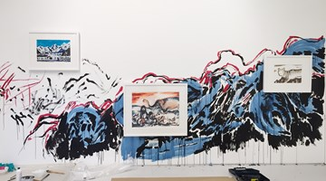Contemporary art exhibition, Sun Xun, Unfounded Prediction at ShanghART, Singapore