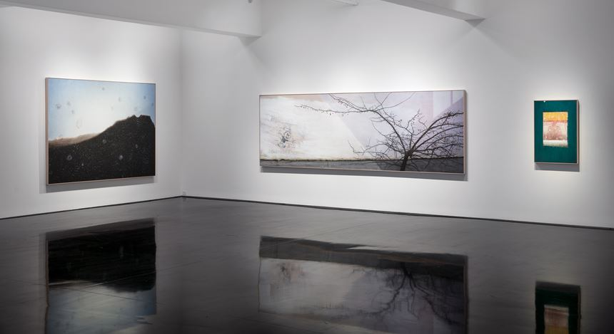 Image: Andrew Browne, In between days, Exhibition view, Tolarno Galleries, Melbourne, 2016.