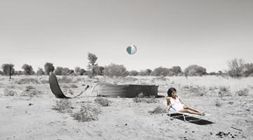 Contemporary art exhibition, Michael Cook, Jacqui Stockdale, Capture at THIS IS NO FANTASY dianne tanzer + nicola stein, Melbourne, Australia