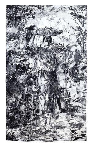 After La Vendedora de Lanzones by Patricia Perez Eustaquio contemporary artwork