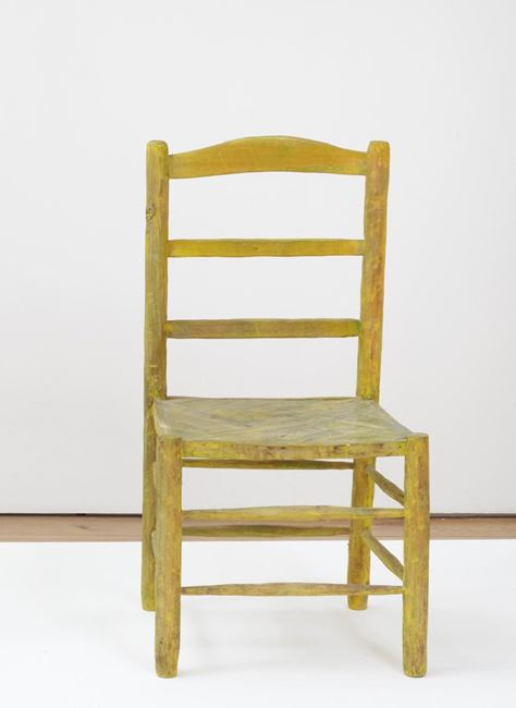 Vincent's Chair by Bob Law contemporary artwork